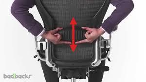 herman miller aeron chair adjusting guide youtube