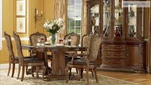 Old World Double Pedestal Dining Room Collection From ART - Art dining room furniture