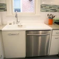 Antique Porcelain Kitchen Sink Retro Style Kitchen Renovation We Repurposed This Vintage