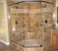 small corner tub shower combo smart and pleasant bathroom design