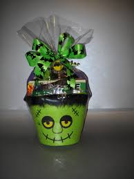 frankie halloween gift basket for all my little old neighbors and