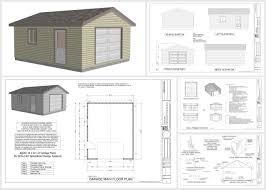 sample garage plan plans pdf dwg home plans u0026 blueprints 57220