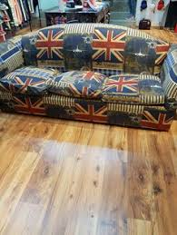 arne jacobsen egg chair replica with hand painted union jack print