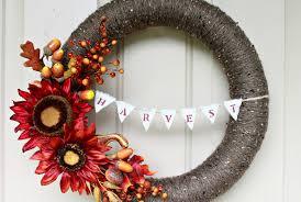 wreath ideas 39 diy fall wreaths ideas for autumn wreath crafts