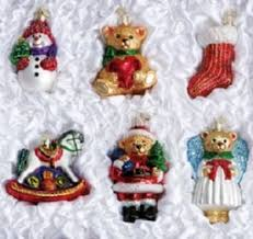 christmas ornament sets world christmas boxed ornaments sets