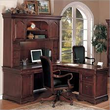 L Shaped Office Desk Furniture Rue De Lyon Traditional Home Office Desk Office Furniture