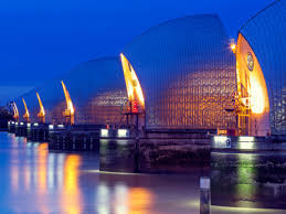 thames barrier ks2 gcse geography causes of floods and effects of flooding rivers