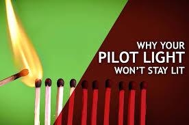 water heater will not light water heater pilot light wont stay lit water heater pilot