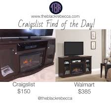 craigslist find of the day chimney free media electric fireplace