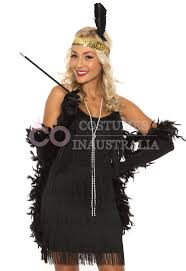 20 s halloween costumes ladies 20s 1920s charleston flapper black chicago fancy dress