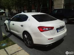 white maserati sedan maserati ghibli 2013 4 june 2017 autogespot