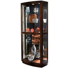 Pulaski Furniture Curio Cabinet by Curio Cabinet Amazon Com Pulaski Corner Curio By Inch Dark Brown