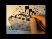 how to draw titanic drawings ideas for kids