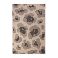Animal Area Rugs Modern Animal Print Pattern Wool Area Rug Gray 2 U0027l X 3 U0027w