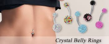 crystal belly rings images Bodyj4you belly button ring turquoise color surgical jpg