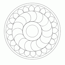 coloring pages quarter simple mandala coloring pages many interesting cliparts