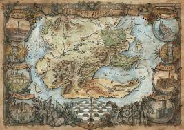 World Of Ice And Fire Map by Imaginary Westeros