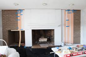 How To Cover Brick Fireplace by Vertical Plank Wall Paneling In My Own Style