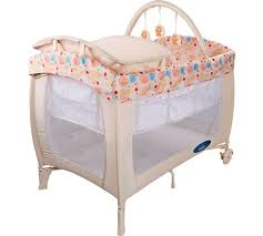 Portable Blackout Blinds Argos Buy Babystart Deluxe Travel Cot Natural At Argos Co Uk Your