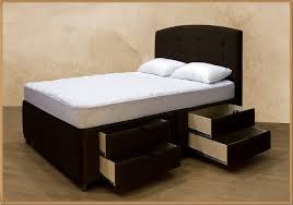 King Size Bed Frame With Storage Underneath Size Bed Storage Bed With Storage Underneath King Size