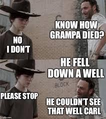 Meme Rick - rick and carl memes imgflip
