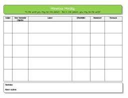 best 25 blank lesson plan template ideas on pinterest preschool