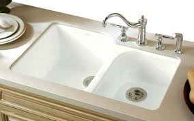 white cast iron kitchen sink kohler cast iron kitchen sink incredible white porcelain in the