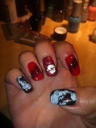 marilyn monroe nails oooooh crystals diamonds and all