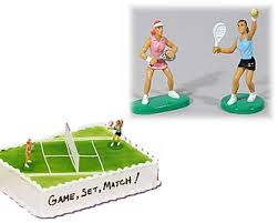 tennis cake toppers tennis baking supplies on sports party world