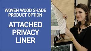 Roman Shade Blackout Liner Privacy And Blackout Liners For Woven Wood Shades Quickdemo