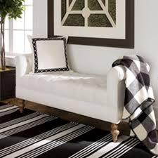 shop ottomans leather ottoman bench ethan allen