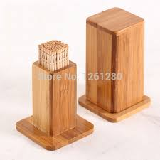 toothpick house free shipping wooden toothpick holder kitchen dining bar table