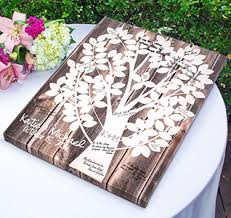 guest book platters signature frames wedding canvas