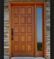 Door Design Best Wood Species For Exterior Door Design Interior Home Decor