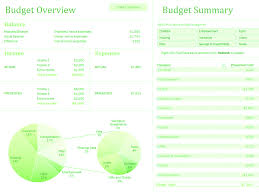 Family Budget Excel Template Family Budget With Charts For Microsoft Excel