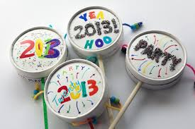 nye noisemakers new year s party ideas that sparkle blissfully domestic