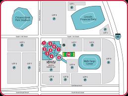 Wells Fargo Center Floor Plan Maps U0026 Parking For Xfinity Live Philadelphia Wells Fargo Complex