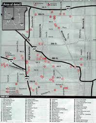 Map Of Downtown Indianapolis Indianapolis Northwest Night Club Map 2005