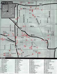 Map Indianapolis Indianapolis Northwest Night Club Map 2005