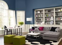 blue color living room home design ideas