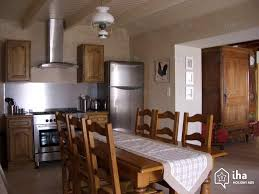 cuisine chambon gîte self catering for rent house in chambon iha 11283