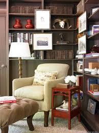 home decor retailers enticing home library design with brown wooden wall bookshelves be
