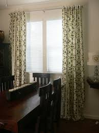Craftsman Style Window Treatments Handmade Kaleidoscope Stripe Links In Taupe Pair Of Designer Rod