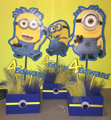 minion centerpieces minion centerpieces personalized wooden boxes laminated i