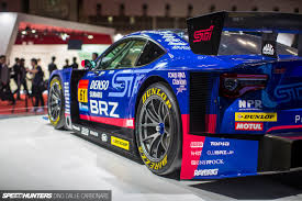 subaru brz gt300 body kit the great tokyo motor show let down speedhunters