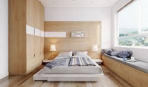 bedroom beautiful modern apartments using wood paneled room