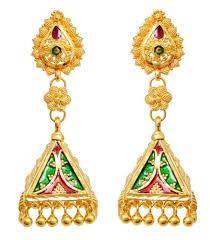 earrings in grt retailer of lotus stud earring flower chandelier studded