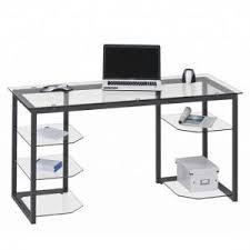 Glass Computer Desk Glass Computer Desk Uk Glass Office Desk Furniture In Fashion