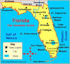 Map Of State Of Florida by Florida State City Map U2013 Utnx