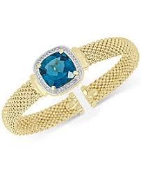 blue topaz bracelet white gold images Blue topaz bracelets macy 39 s 5,0&a